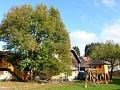 Chata Makovica - Záhrada